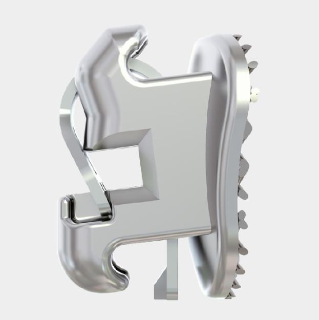 Bracket - Metal - Self ligating Side